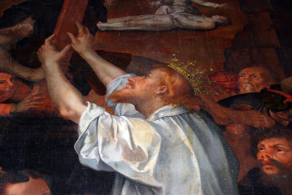 Olmi---chiesa-di-Santa-Maria---Portelli---Adorazione-Croce---particolare