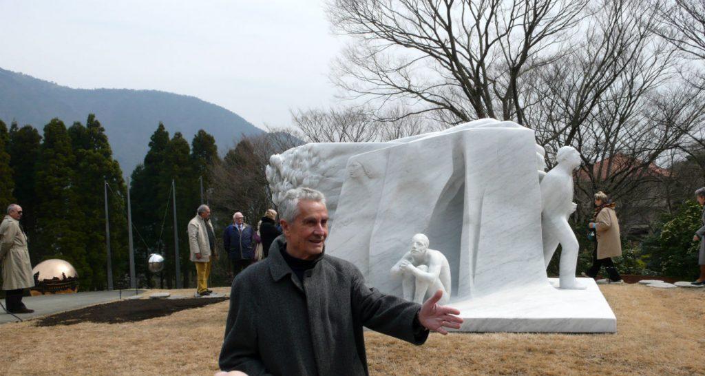 vangi2Grande racconto 2004 Marmo di Carrara 250x420x330