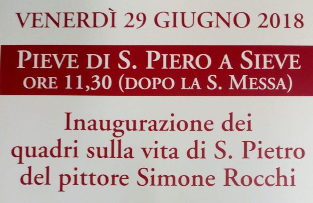 San Simone Calendario.I Quattro Grandi Dipinti Di Simone Rocchi Per Il Giorno Del